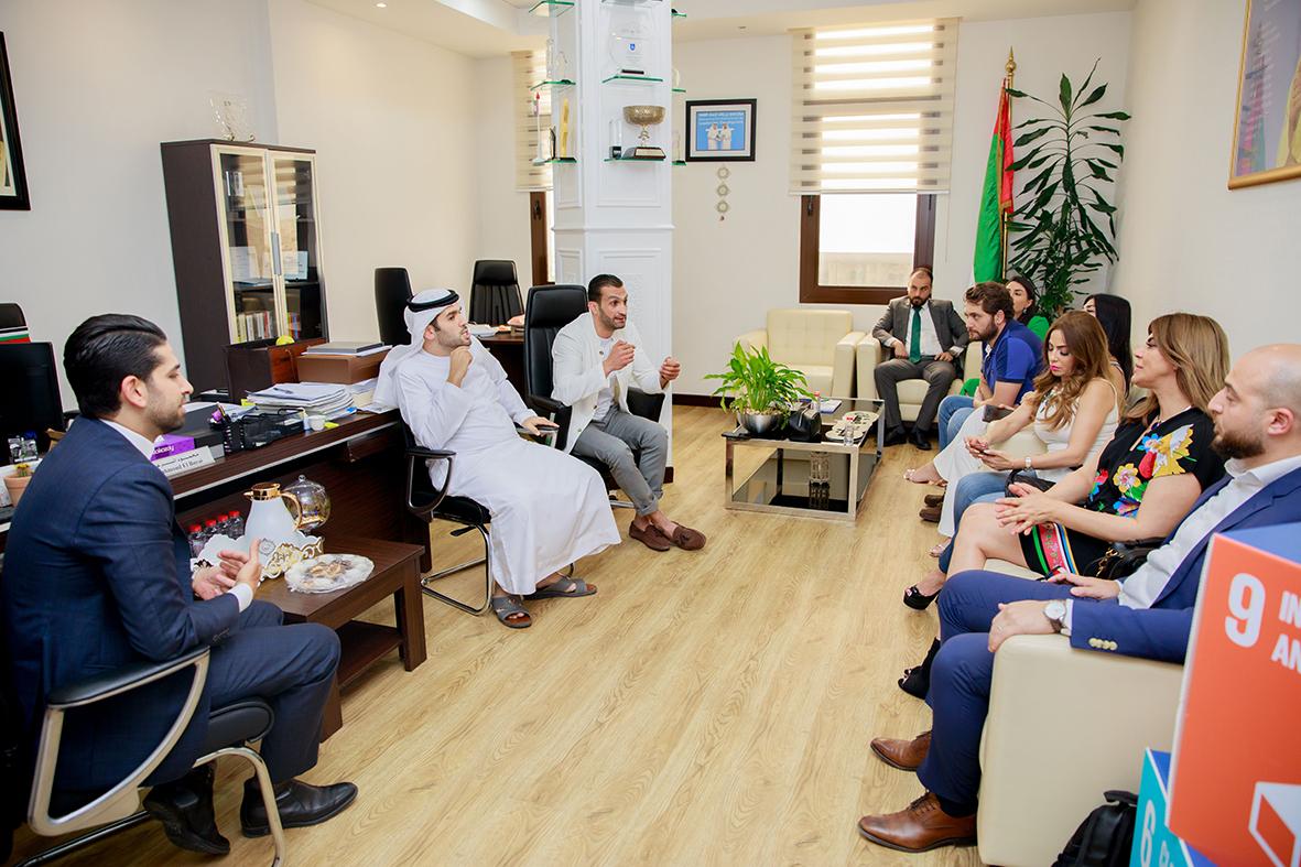 قوشان من عمان إلى دبي في جولة عقارية